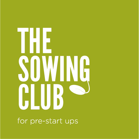 the sowing club, logo, pre start-up courses, lancaster