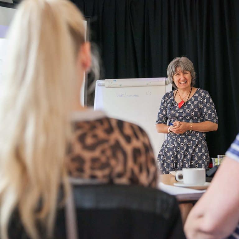 jane binnion, founder, the growing club, training